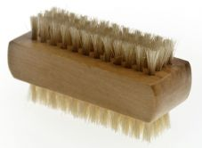 M-BP32S Wooden Nail Brush two Sided - Mini